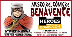 >thisisjustarandomplaceholder<Cartel-Feria-Comic-Con-Madrid   Iberian Press®