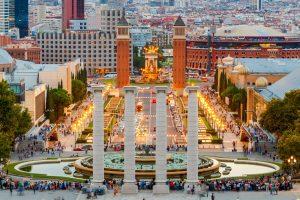 >thisisjustarandomplaceholder<Magic Fountain in Barcelona.   Iberian Press®